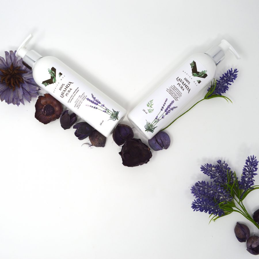 Firming body cream with mediterranean lavender and marigold